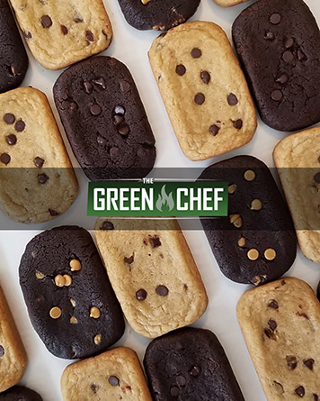 cannabis edible test product cookies